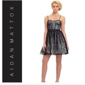 Nordstrom Aidan Mattox Lace Dress
